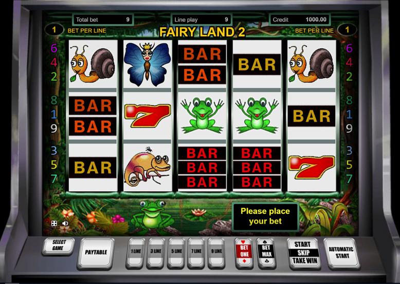 Игровой автомат Fairy Land бесплатно без регистрации