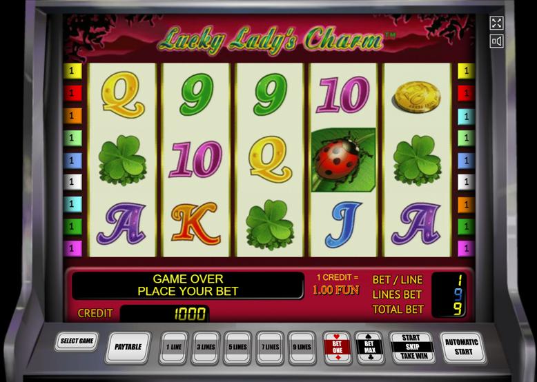 Игровой автомат Lucky Ladies Charm бесплатно без регистрации