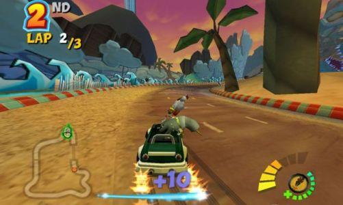 Crash Tag Team Racing - новая интересная игра