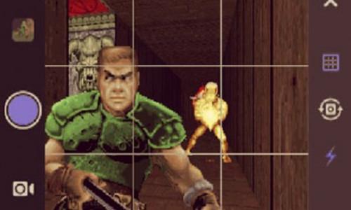 В Doom плазменную пушку заменили палкой