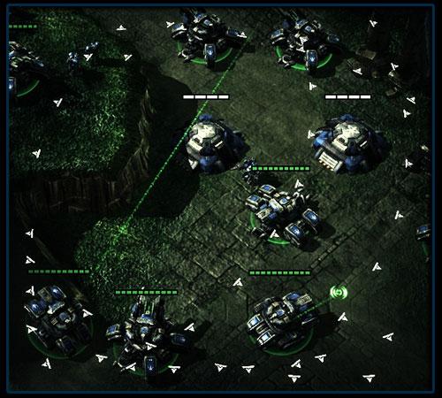 Перемещение Осадных Танков